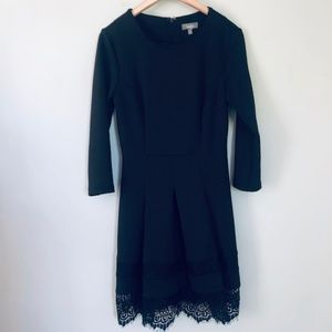 Neiman Marcus Long Sleeve Black Dress- Size 8